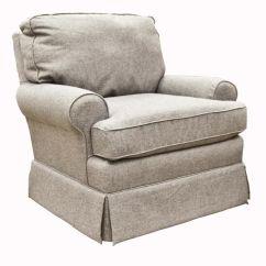 Swivel Chair Nebraska Furniture Mart Linen Slipcovered Dining Chairs – Best Quinn Glider In Mist | For Hadley Eloise ...