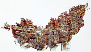 caravel diagram  Google Search   Ships & Boats   Pinterest   Spanish, Cross section and Comment