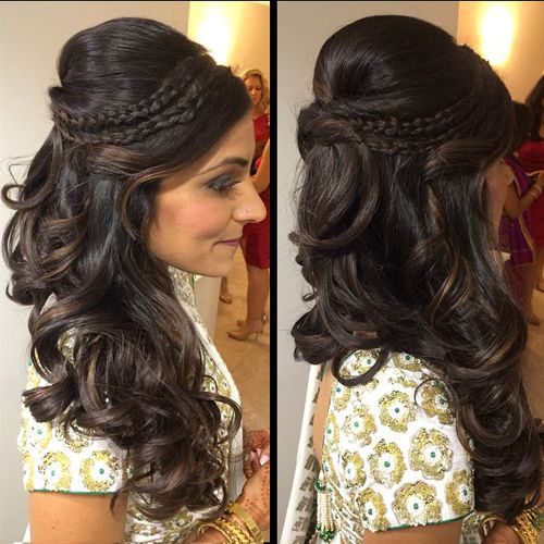 25 Best Ideas About Indian Wedding Hairstyles On Pinterest