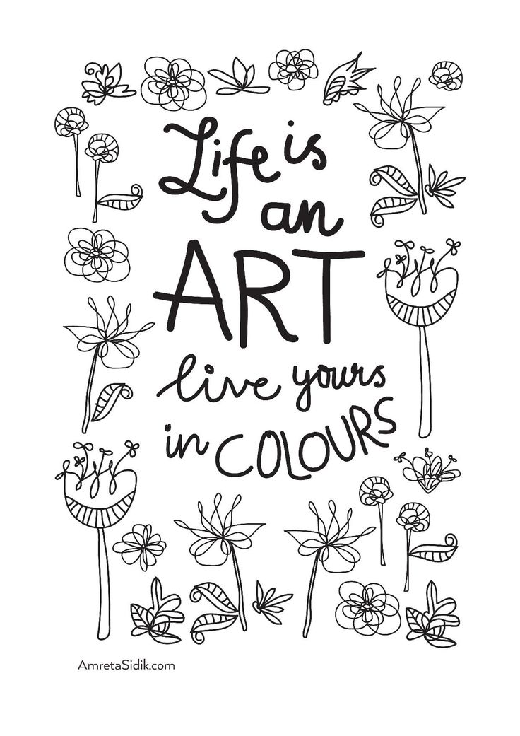 258 best images about Words Colouring Pages for Adults on