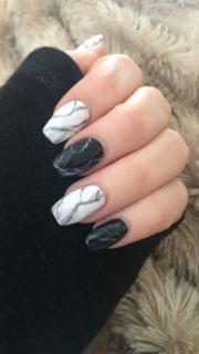 marbled nails ideas