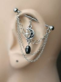 17 Best ideas about Industrial Piercing on Pinterest | Ear ...