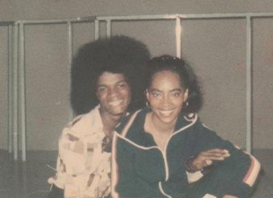 Jermaine Stewart  Jody Watley the day they met on the set of Soul Train  MJ  Pinterest