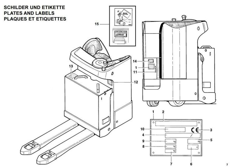 1000+ images about Linde Instructions, Manual on Pinterest