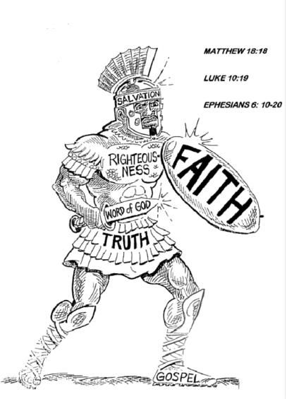 Free Coloring Pages Armor Of God Sword Of The Spirit http