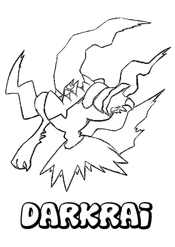 Disegno Pokemon Kleurplaat
