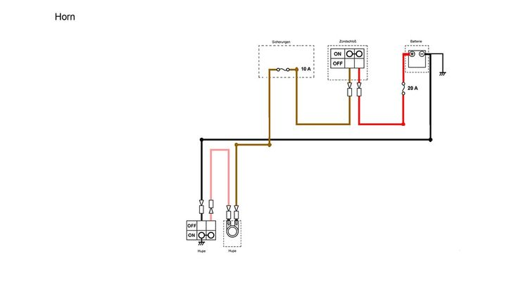 moped wiring diagram simplified