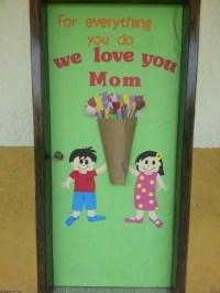 Mother's day door decor   School   Pinterest   Mothers and ...