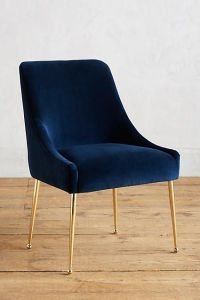 25+ best ideas about Blue velvet chairs on Pinterest ...
