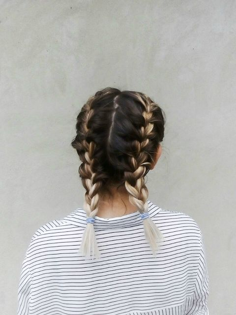Best 20 French Braids Ideas On Pinterest French Braid