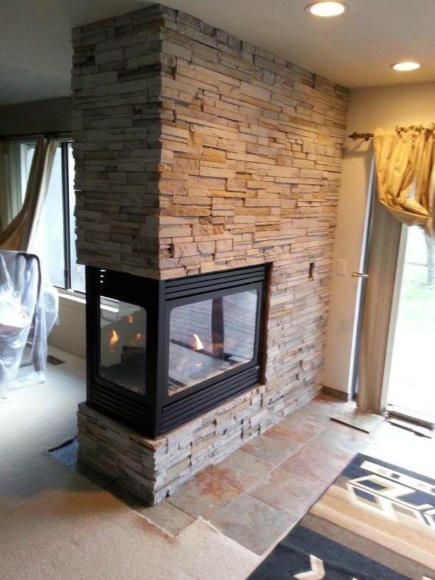 Peninsula fireplaces with stone HHDU  Blogposts