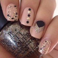 25+ best ideas about Black nail designs on Pinterest ...