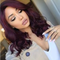 25+ Best Ideas about Burgundy Hairstyles on Pinterest ...