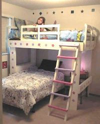 How To Build Loft Bed With Desk Underneath - WoodWorking ...