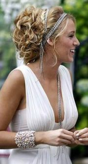 blake lively wedding hair double-banded