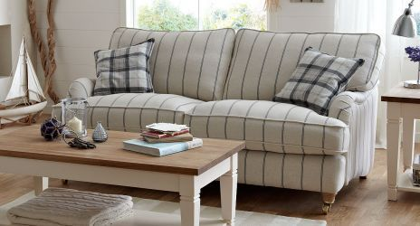dfs sofas jedd fabric reclining sectional sofa gower large striped | think ...