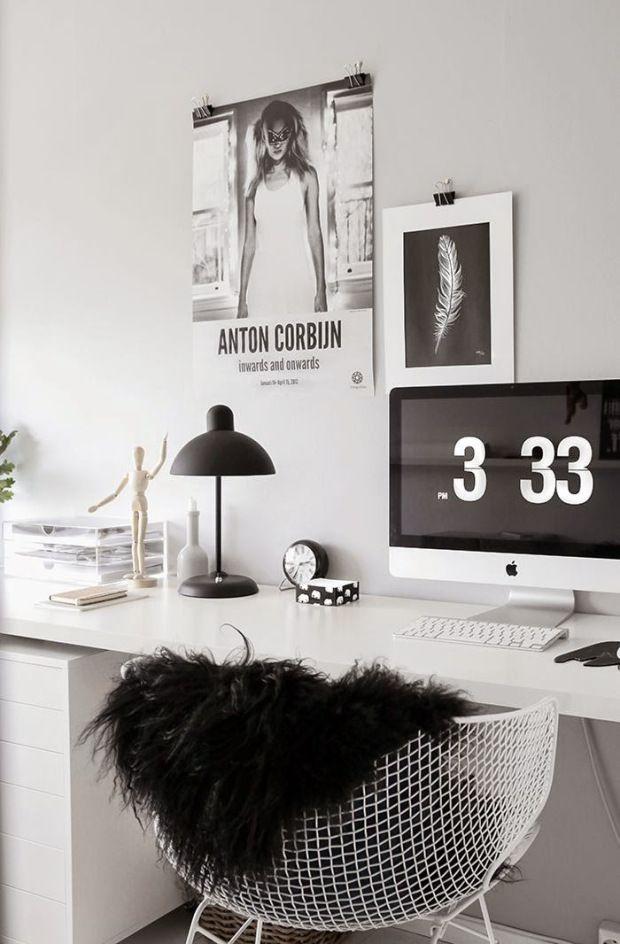 Ideas for #homeoffice | Interior Design | Decoration | Organization | Architecture | Desk | Beautiful Home Offices | Bright Bold and Beautiful | Home office decor ideas.: