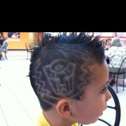 boy haircut
