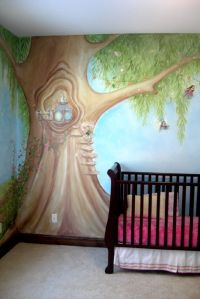 Fairy tree Nursery wall mural-second view mural idea as ...