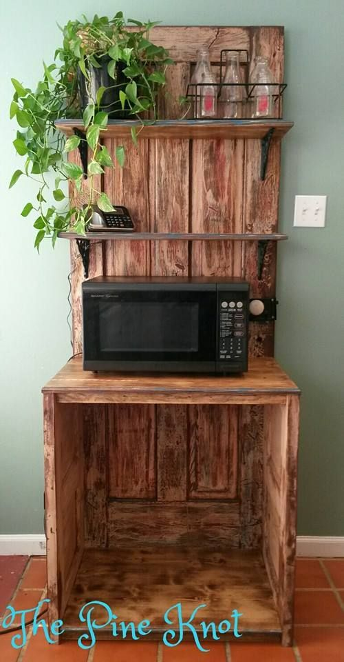 chocolate kitchen cabinets what is the average cost of refacing 25+ best ideas about microwave stand on pinterest | home ...
