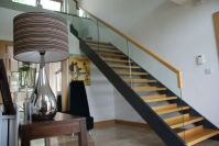 Idea for open riser stairs   Stairs   Pinterest   Back to ...