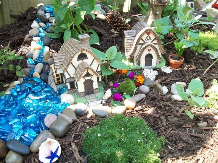 253 Best Images About Garden Rock Fairy And Gnome Garden Ideas On