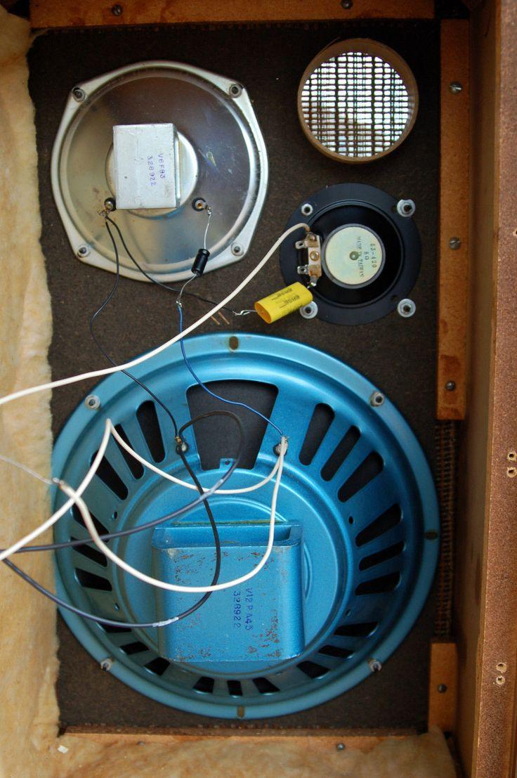 Vintage Utah WD 66 12 3 Way Speaker System 8 Ohms 30