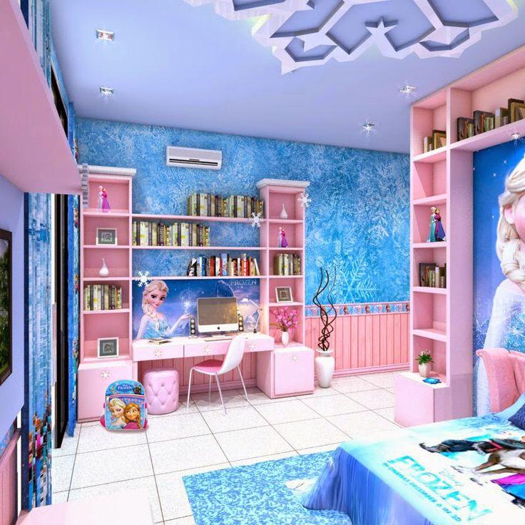 1000 ideas about Disney Frozen Bedroom on Pinterest
