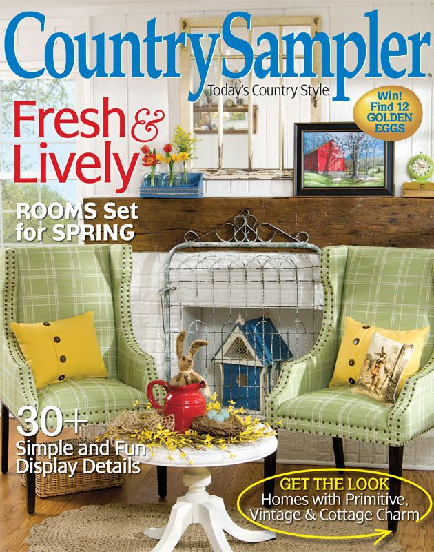 129 best images about Country Sampler Magazine on Pinterest