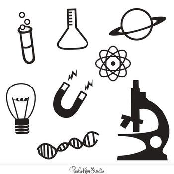 Science, Clip art and Icons on Pinterest