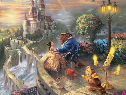 Dreaming About Wallpaper Falling Off Beauty And The Beast Belle And The Beast At The Beast S