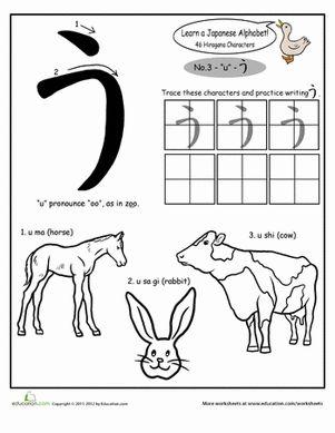 Die 25+ besten Ideen zu Hiragana Alphabet auf Pinterest