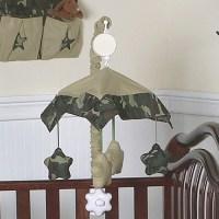 Green Army Camo Baby Mobile | Mamas Little Men | Pinterest ...