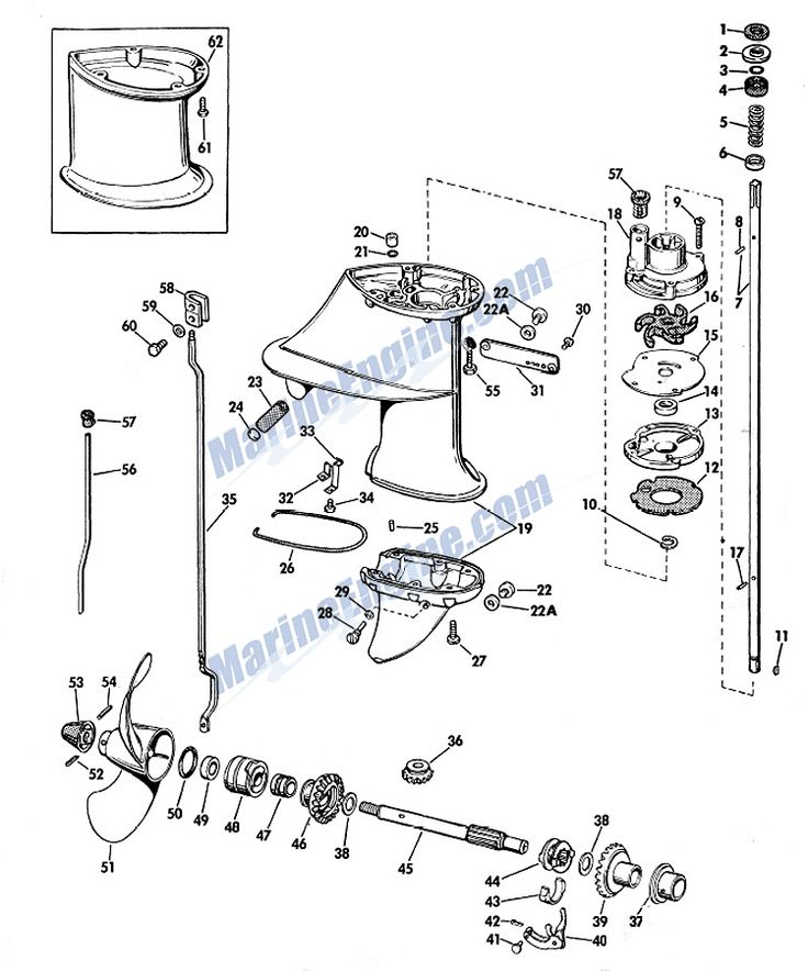 7 best images about Outboard Johnson 6 hp on Pinterest
