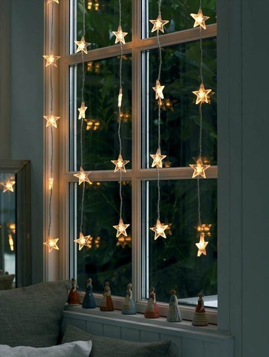 Best 10 Christmas window decorations ideas on Pinterest