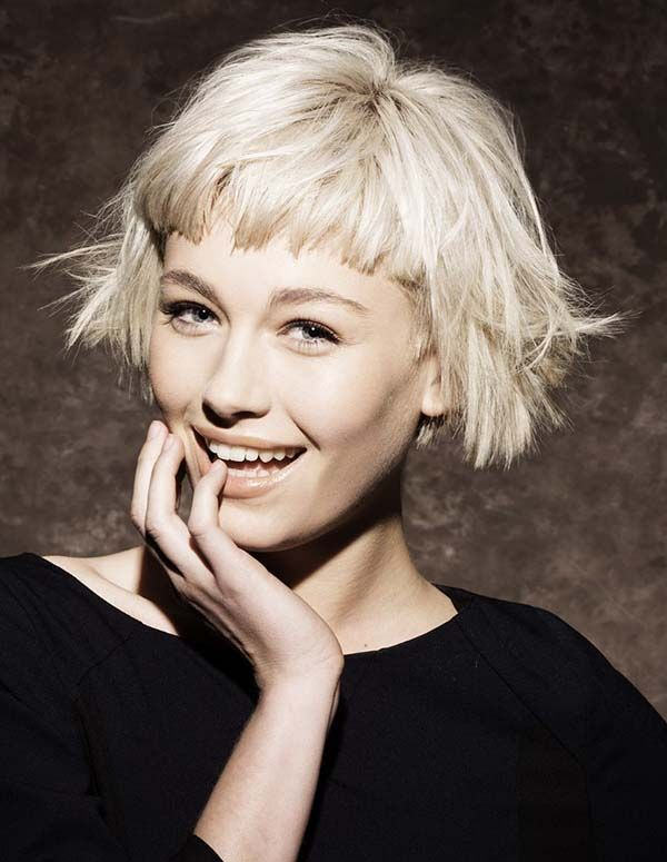 25 Best Ideas About Very Short Bangs On Pinterest Short Bangs