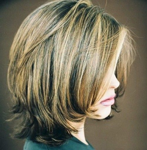 25 Best Ideas About Layered Bob Hairstyles On Pinterest Layered