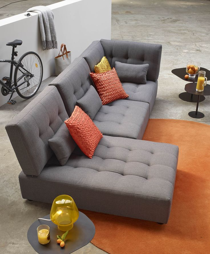 grey fabric sofa uk leather sectional design ideas modulsoffa reiko #habitatsverige   inspirationsbilder ...