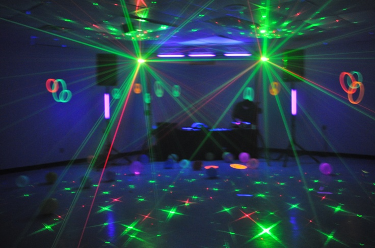 539 Best Images About Glow In The Dark Party On Pinterest