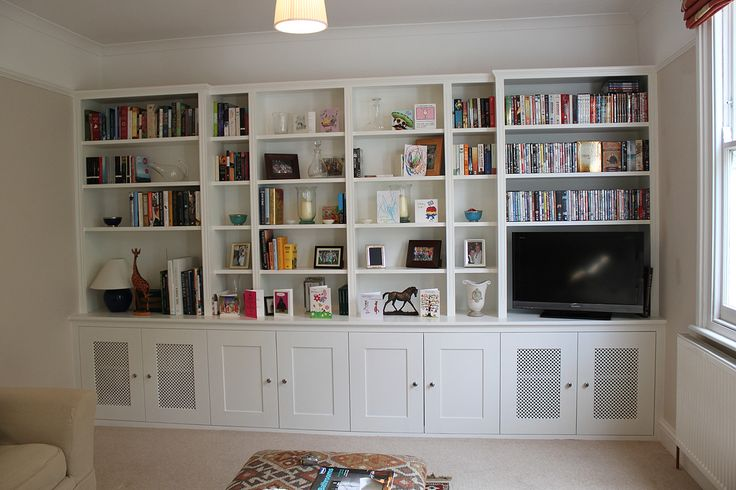 Traditional Fitted Bookcase