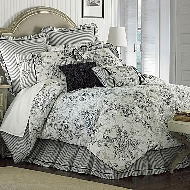French Country Toile Bedding Sets Bedroom S D 233 Cor