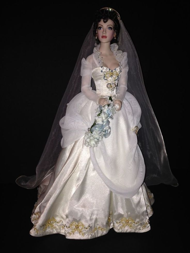 Faberge Summer Bride Doll Katya by Franklin Mint  excellent condition  Bears and Dolls