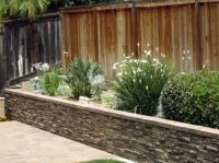 Stone veneer, Backyards and Forests on Pinterest