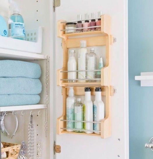 Idee salvaspazio per bagno piccolo  Mobile circolare per