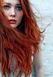 beautiful ginger girl