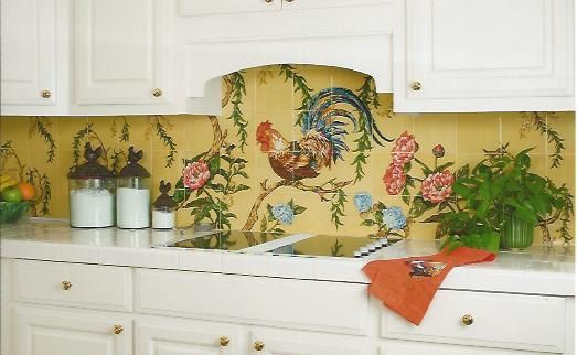 1000+ Images About Hand Painted Tiles On Pinterest