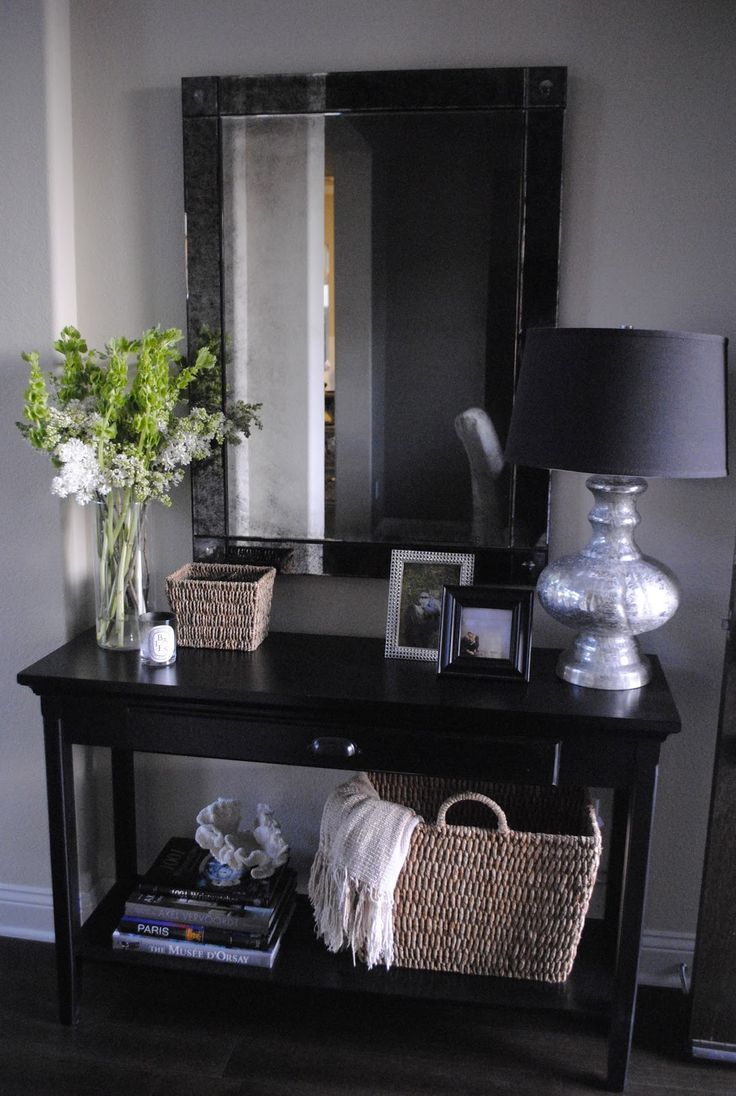 25 best ideas about Hallway Tables on Pinterest  Entry