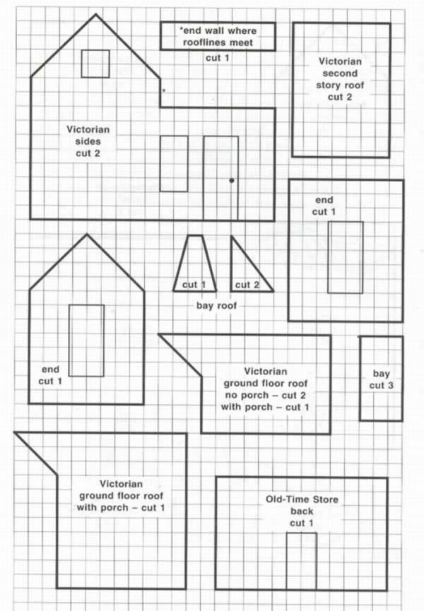 82 best images about Printable Paper Houses on Pinterest