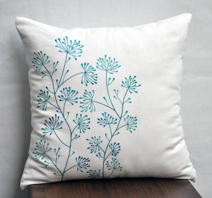 Teal Pillow Shams
