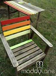34 Best Images About Painted Garden Furniture & Sheds On Pinterest